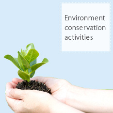 Environment conservation activities