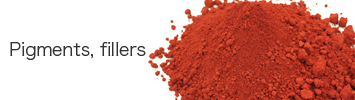 Pigments, fillers