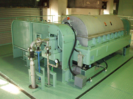 Leading company in decanter type centrifugal separators